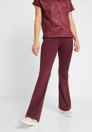PANT - Pantaloni sportivi - ruby wine
