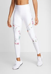 Desigual - BLOCKING LEGGING GARDENS - Trikoot - blanco - 0