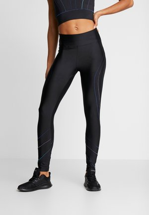 LEGGING FLATLOCKS STUDIO - Tights - black