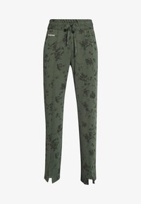 Desigual - PANT PINTUCK GARDENS - Pantalon de survêtement - caqui - 3