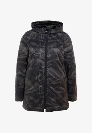 PADDED COAT LONG ARTY - Vinterkåpe / -frakk - black