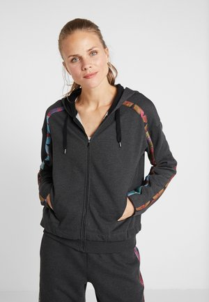 HOODIE TAPE PATCH - Sweatjacke - gris vigore oscuro