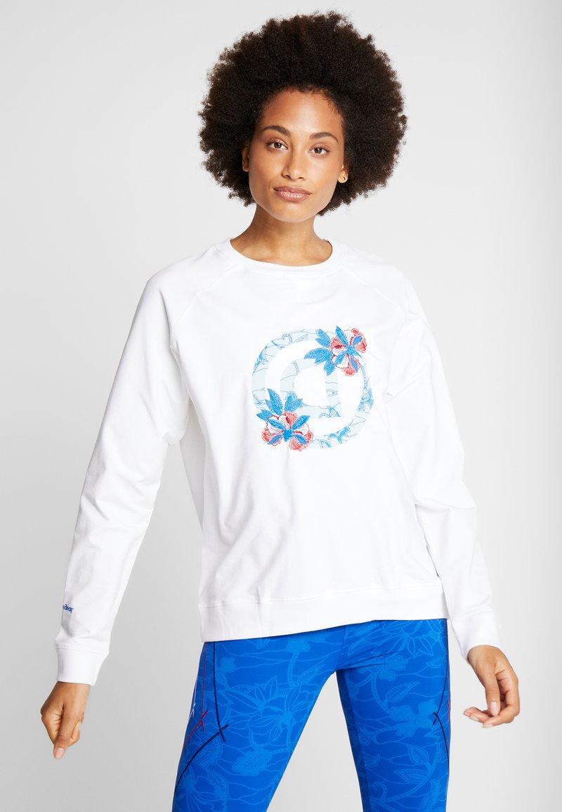 Desigual - CREWNECK LOGO OLYMPIA - Sweatshirt - blanco