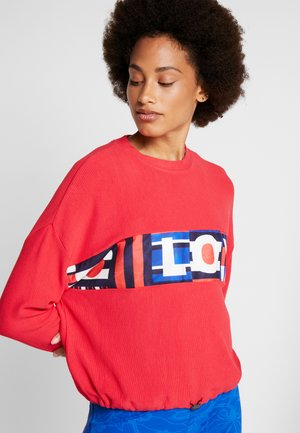 OLYMPIA - Sweater - rojo abril