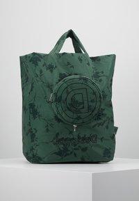 Desigual - SHOPPING BAG GARDENS - Sports bag - caqui - 5