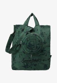 Desigual - SHOPPING BAG GARDENS - Sports bag - caqui - 7