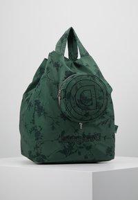 Desigual - SHOPPING BAG GARDENS - Sports bag - caqui - 6