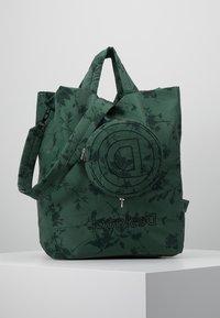 Desigual - SHOPPING BAG GARDENS - Sports bag - caqui - 0
