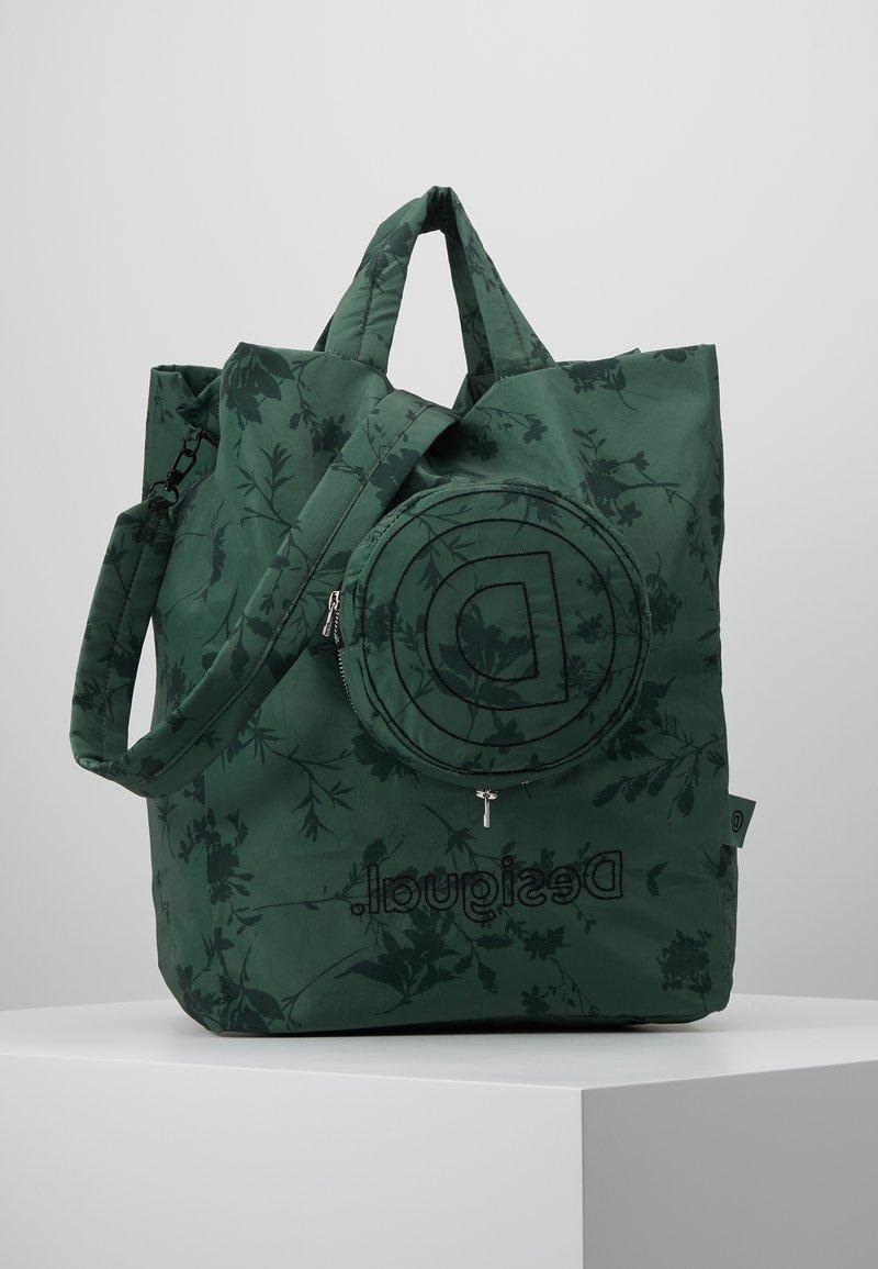Desigual - SHOPPING BAG GARDENS - Sports bag - caqui