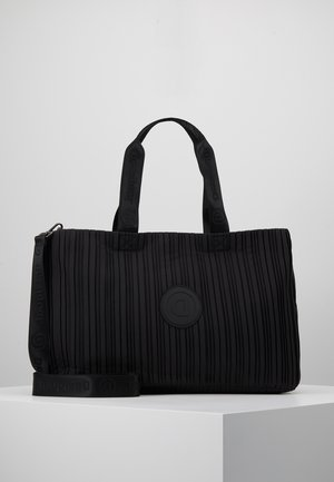 DUFFLE BAG PLEATS SET - Sporttas - black
