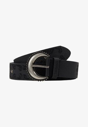 BELT BOHO EMBROIDERY - Belt - black