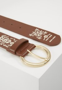 Desigual - BELT PAÑUELO - Belte - brown - 4