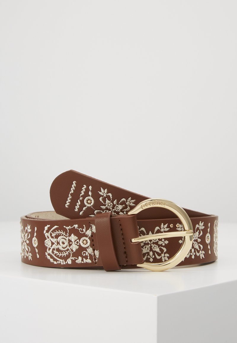 Desigual - BELT PAÑUELO - Belte - brown