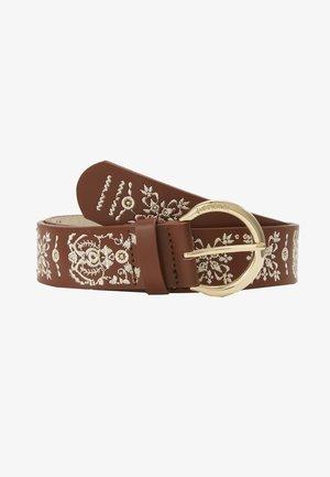 BELT PAÑUELO - Belte - brown