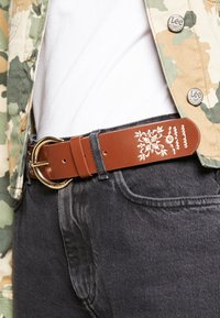 Desigual - BELT PAÑUELO - Belte - brown - 1