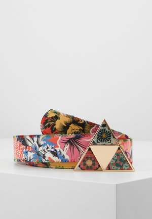 BELT TROPICALIA REVERSIBLE - Pásek - purpura