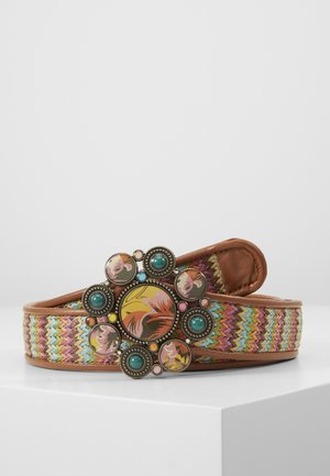 BELT LOVE REVERSIBLE - Pasek - neon pink