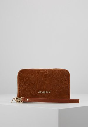 MONE MELODY MINI ZIP - Wallet - camel oscuro