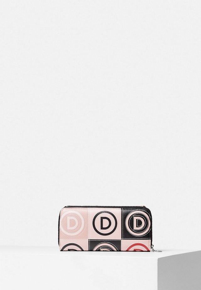 Portemonnee - pink/black