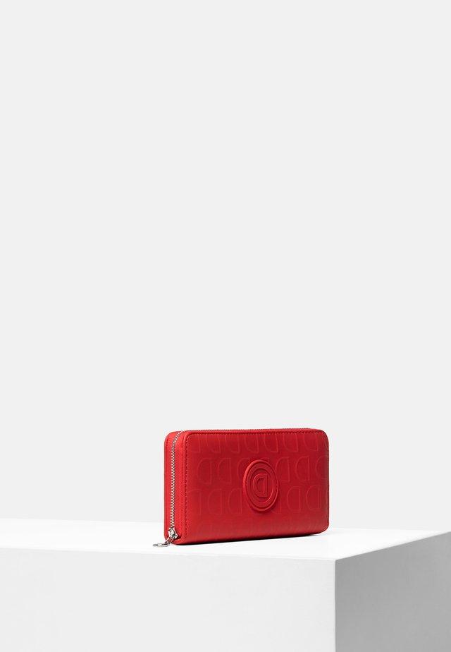 MONE_LAZARUS ZIP AROUND - Portfel - red