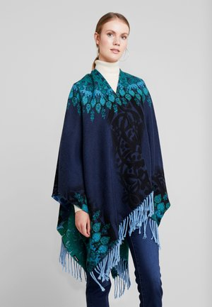 PONCHO GALACTIC - Cape - navy