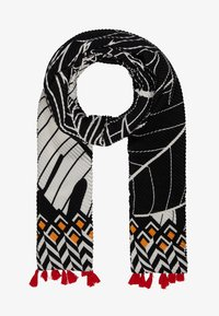 Desigual - FOUL FRUITS - Scarf - white/black