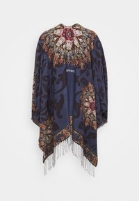 Desigual - PONCHO TAPESTRY REVERSIBLE - Cape - blue - 1