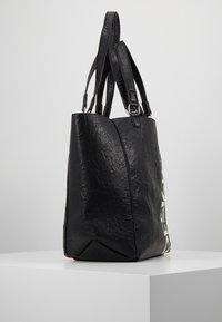 Desigual - BOLS ARTY MESSAGE COLORADO - Shopping bags - black - 3