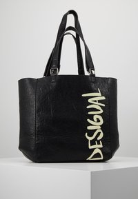 Desigual - BOLS ARTY MESSAGE COLORADO - Shopping bags - black - 0