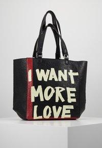 Desigual - BOLS ARTY MESSAGE COLORADO - Shopping bags - black - 2