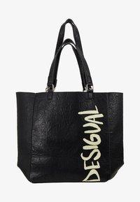 Desigual - BOLS ARTY MESSAGE COLORADO - Shopping bags - black - 5