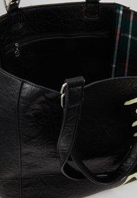 Desigual - BOLS ARTY MESSAGE COLORADO - Shopping bags - black - 4
