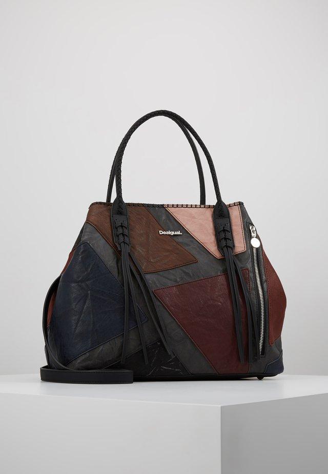 HOLBOX - Tote bag - marron oscuro
