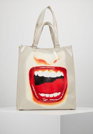 BOLS SPEAK UP MAXI - Shopping bags - gris perla