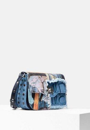BOLS KIRBY AMORGOS - Sac bandoulière - blue
