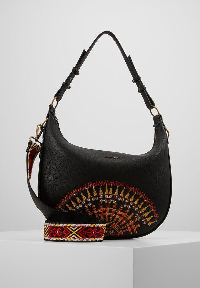 AFRICAN MANDALA SIBERIA - Handbag - black