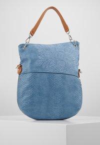 Desigual - BOLS HELA FOLDED - Handbag - azul media noche - 2