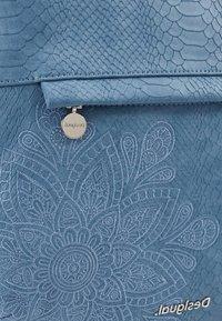 Desigual - BOLS HELA FOLDED - Handbag - azul media noche - 5