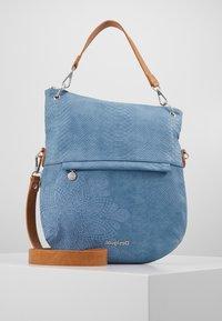 Desigual - BOLS HELA FOLDED - Handbag - azul media noche - 0