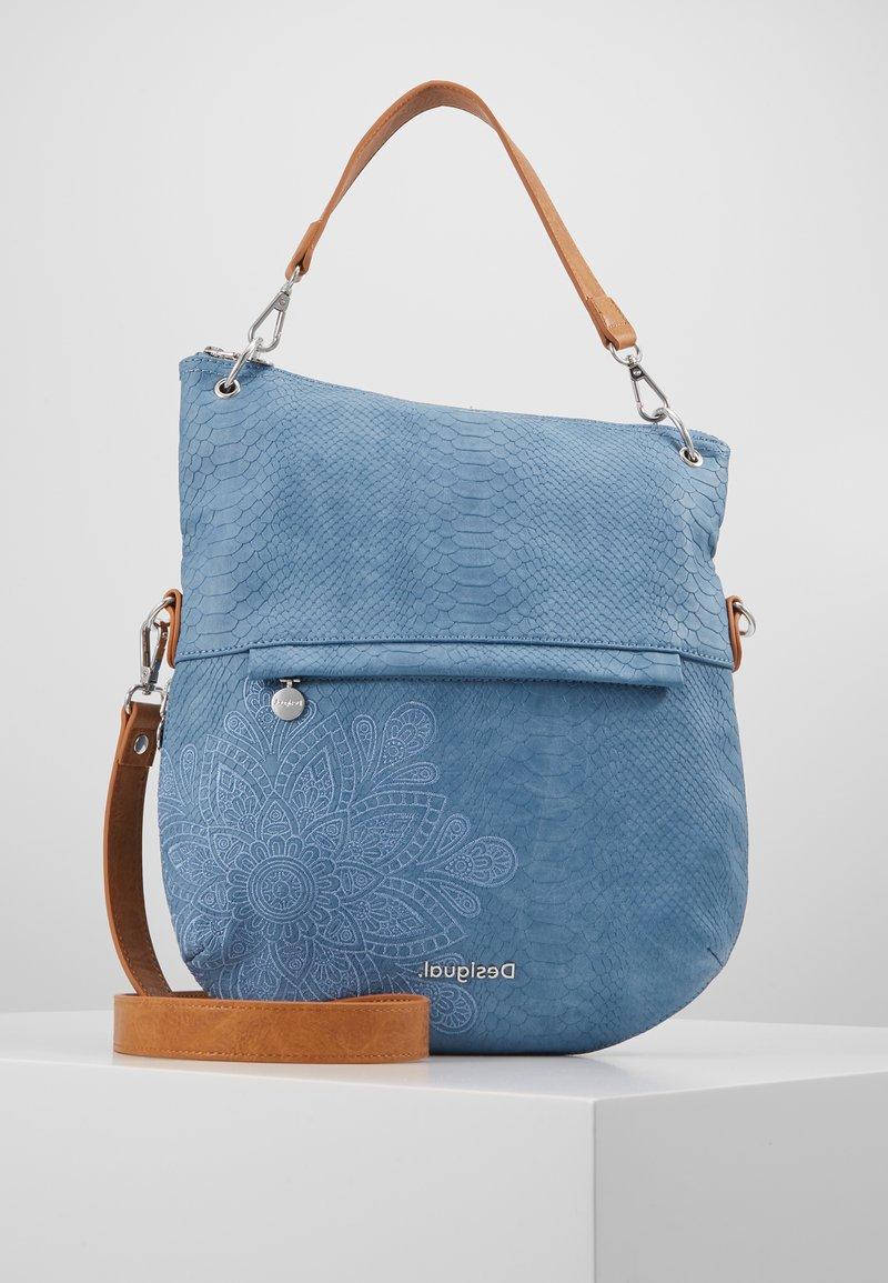 Desigual - BOLS HELA FOLDED - Handbag - azul media noche