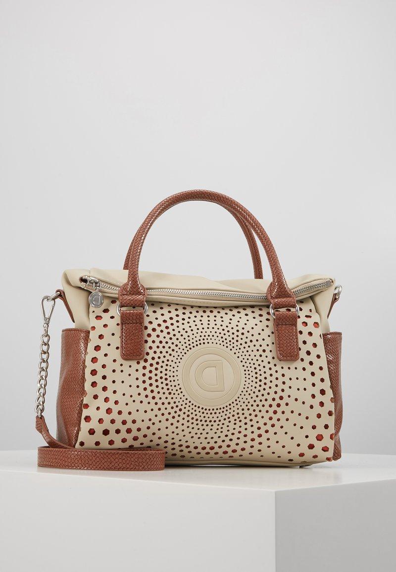Desigual - LEGACY LOVERTY - Handbag - blanco