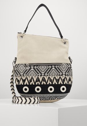 FOLDED - Handbag - blanco