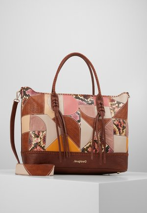 BOLSAYAX HOLBOX - Shoppingveske - camel