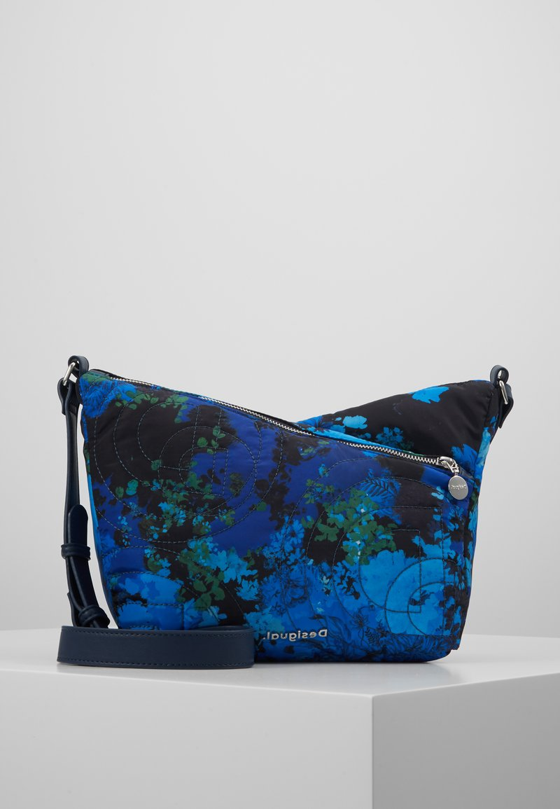 Desigual - BOLS CAMOFLOWER HARRY MINI - Skulderveske - nautical blue
