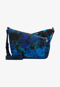 Desigual - BOLS CAMOFLOWER HARRY MINI - Skulderveske - nautical blue - 5