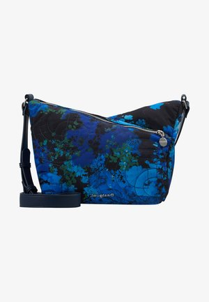 BOLS CAMOFLOWER HARRY MINI - Taška s příčným popruhem - nautical blue