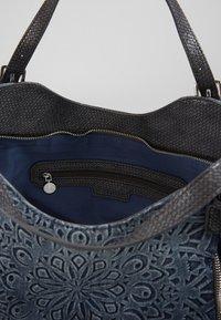 Desigual - SEVEN SEAS ROTTERDAM - Håndtasker - denim dark blue - 3