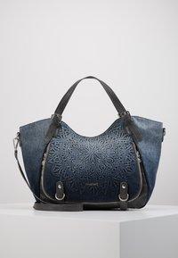 Desigual - SEVEN SEAS ROTTERDAM - Håndtasker - denim dark blue - 0