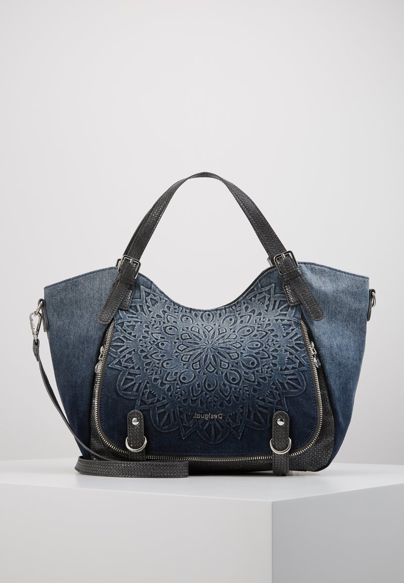 Desigual - SEVEN SEAS ROTTERDAM - Håndtasker - denim dark blue