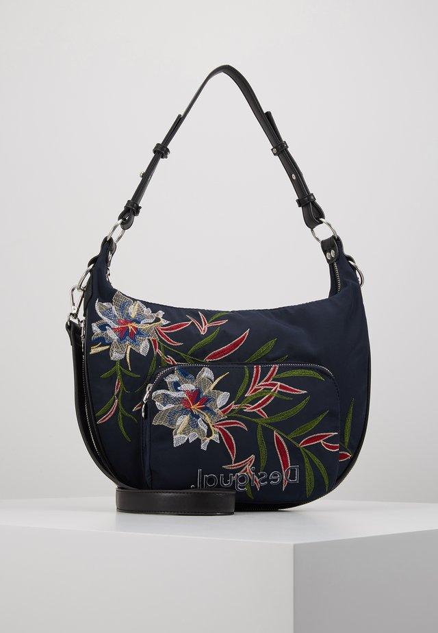 BOLS FLOWER SEA SIBERIA - Handbag - navy